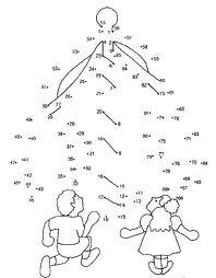 ตัวอย่างของ Connecting the Dots ที่เราเคยทำตอนเด็ก